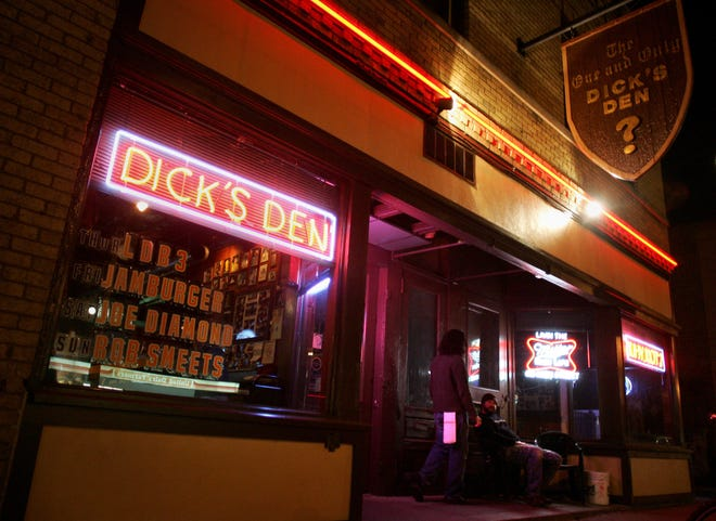 Dick's Den, shown in this file photo, reopens June 2.