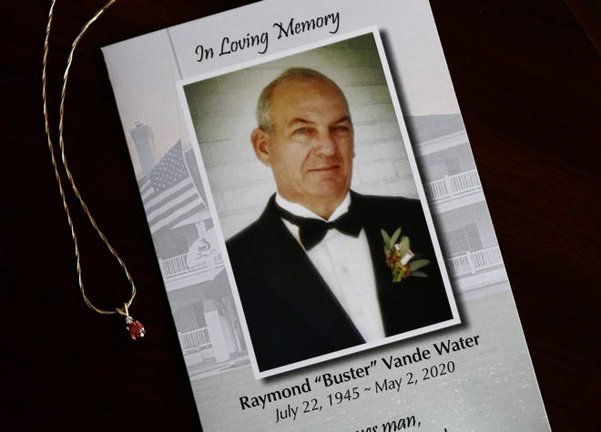 """Raymond """"Buster"""" Vande Water Jr. died at age 74 on May 2, 2020, from a rare brain disorder. Shortly before his death, the funeral director at Schoedinger Funeral and Cremation Service in Worthington introduced his family to the idea of a diamond as a way to keep his memory alive, after learning that he worshipped his wife Linda and often gave her jewelry."""