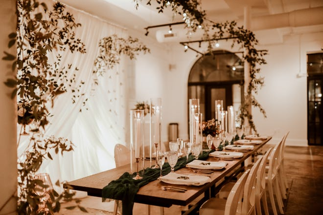 Focal florals at The Fig Room