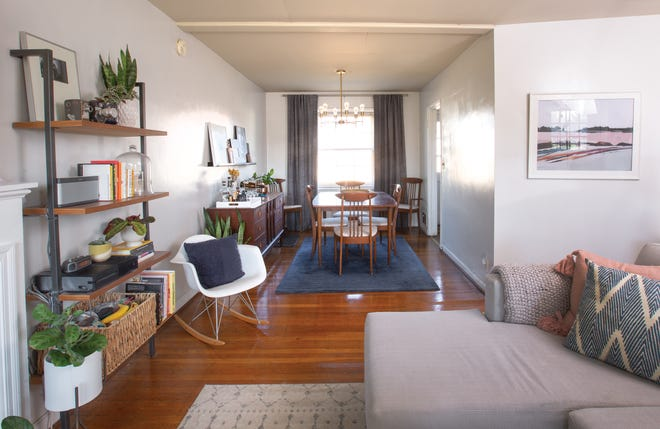Today's rental spaces feature chic furnishings that reflect a home dweller's sense of unique style.