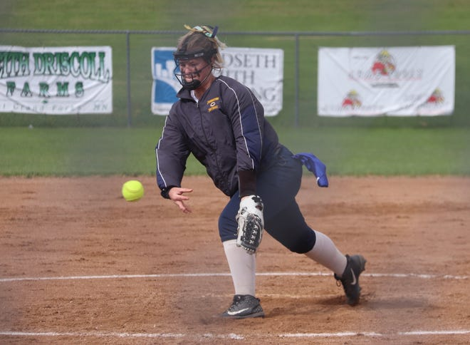 Jenna Coauette and the Crookston softball team was seeded ninth in Section 8AA North.