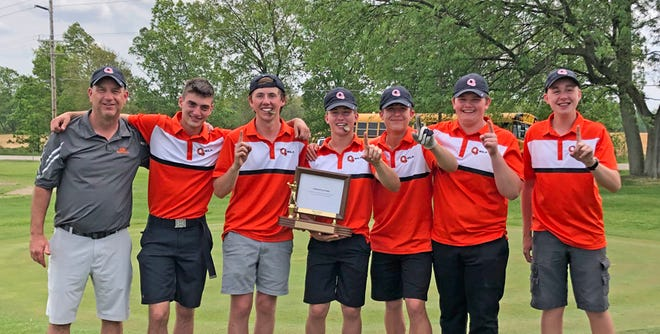 The Quincy Orioles took top honors at Tuesday's Big 8 Conference Tournament, winning a share of the season long championship in the process. Quincy's Sam Saywer and Brandt Neely tied for Medalist honors and Sawyer was named Big 8 MVP.