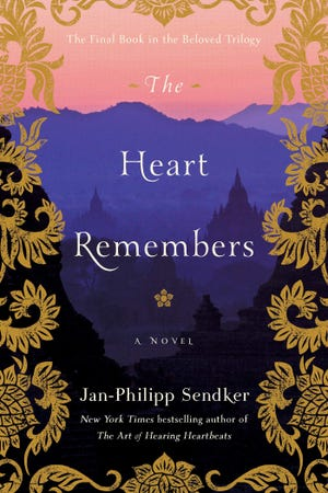 """Author Jan-Philipp Sender presents his new book, """"The Heart Remembers,"""" during a virtual event hosted by The BookMark on June 8."""