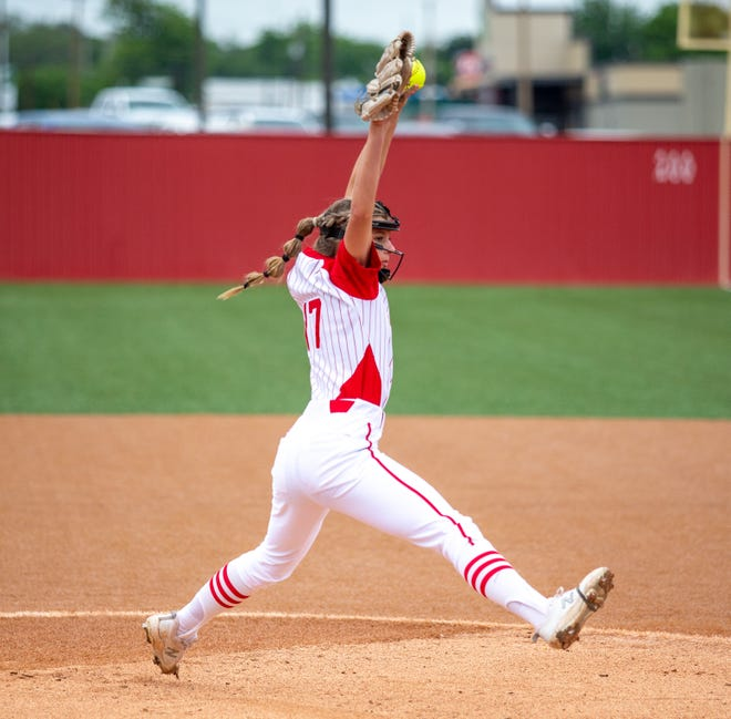Taylor McKenzie was named the District 6-4A MVP.