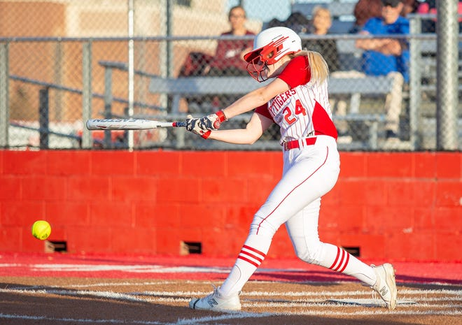 Kaycee Bock was named the District 6-4A Offensive Player of the Year.
