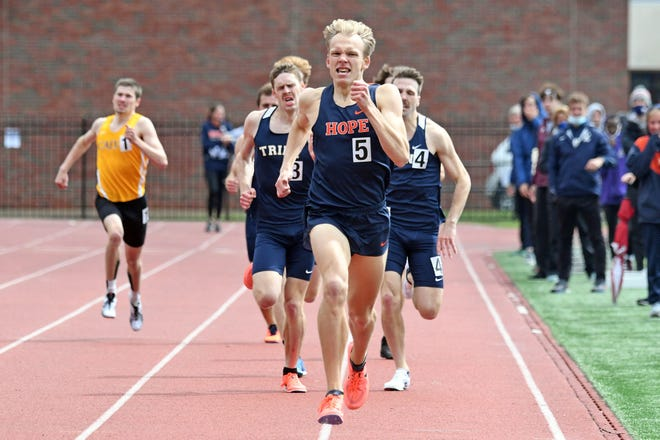 Hope's Nick Hoffman will compete at the NCAA Division III Track and Field Championships.