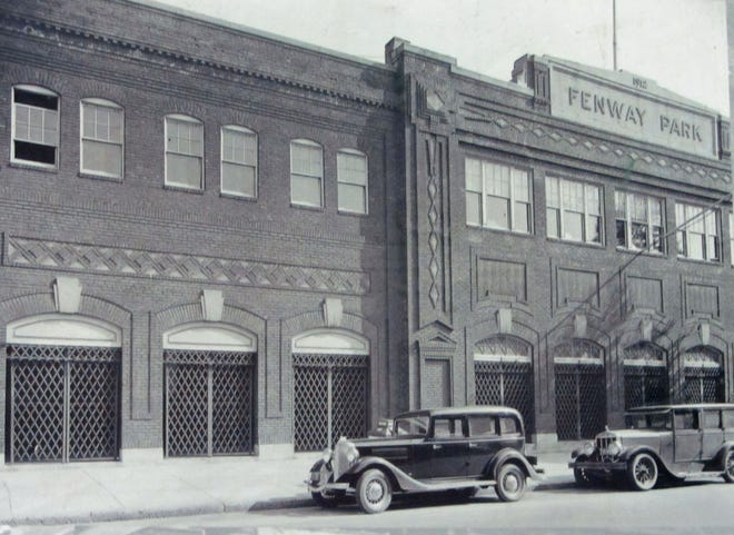 This is the outside of Fenway Park as it was in 1933. It has certainly changed a lot since then. Courtesy photo