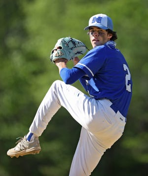 Middletown topped Burrillville, 2-0, on Friday night in Game 1 of the Division II state baseball championship series.