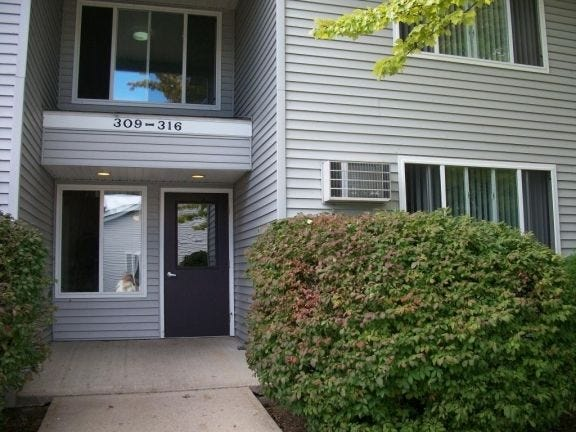The Pine Cove Apartments complex on May Street in Charlevoix includes units where rent is based on income level. However, numerous citizens and community leaders see the area's supply of affordable housing as tight overall.