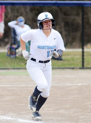 Lauren Klepadlo put together a solid couple games for Petoskey, though the Northmen dropped both to Alpena.