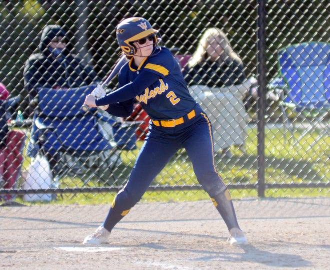 Addison Wangler and the Blue Devils again had a strong couple games at the plate to earn a share of the BNC title.