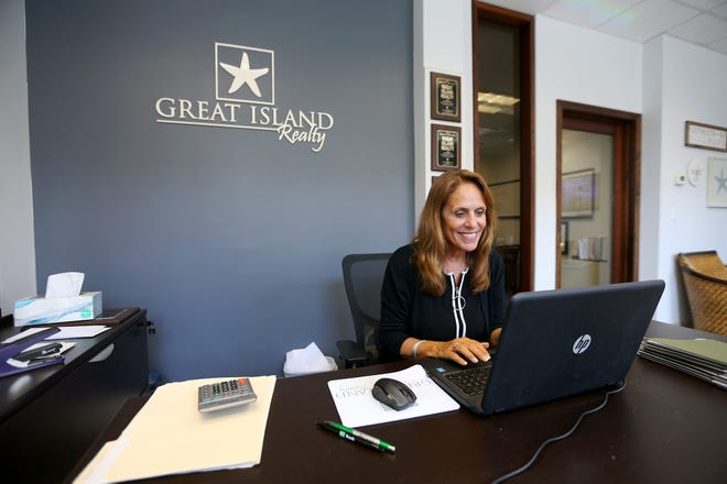 Janet Sylvester, owner and broker of Great Island Realty, is one of a few Seacoast brokers giving 10 tips to people trying to buy homes in the flooded Seacoast market.
