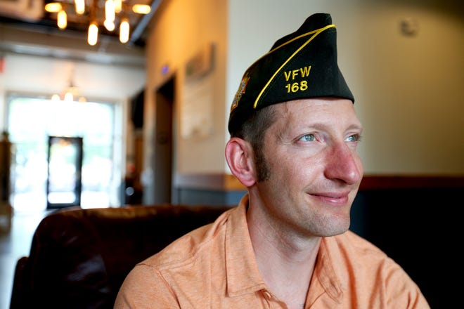 Josh Denton, who served in Iraq, was recently named the new VFW Post Commander for Post 168.