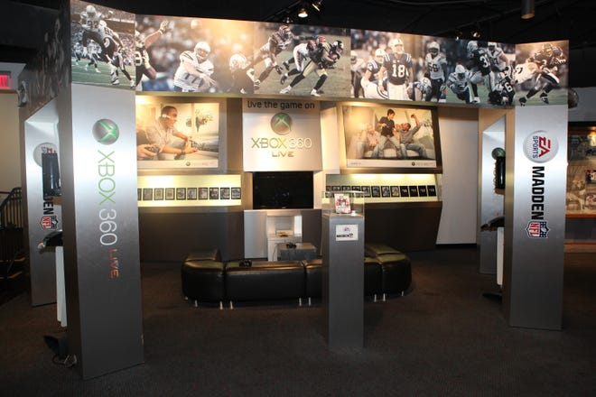 The Madden Xbox exhibit at the Pro Football Hall of Fame will reopen Friday, May 28, 2021, for visitors after COVID-19 protocols kept it closed for a year.