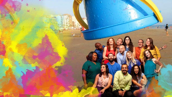"""The FST Improv troupe is back with its """"Life's a Beach"""" live shows on Saturday nights."""