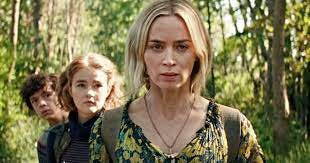 """The Abbott family is forced to go beyond the sand path in the sequel """"A Quiet Place Part II,"""" starring Emily Blunt, Millicent Simmonds and Noah Jupe."""