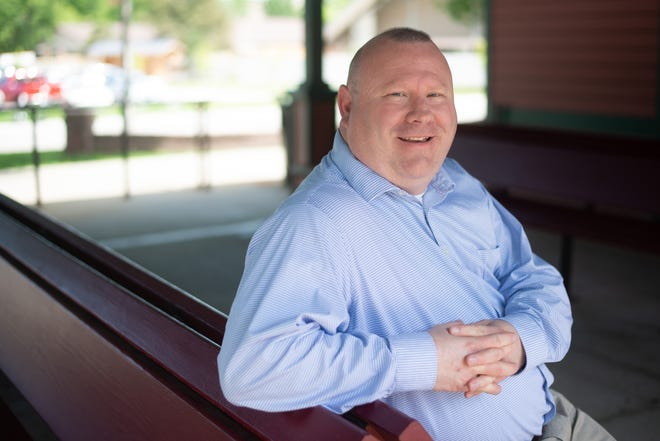 Patrick Klick said he sees people struggling in his community, and he wants to change that.