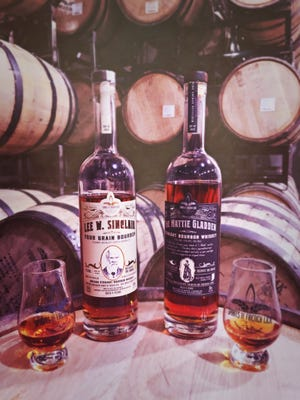 Spirit of French Lick's Mattie Gladden High Rye Bourbon and Lee W. Sinclair Four Grain Bourbon Bottled in Bond earned Platinum Awards at the ASCOT competition.