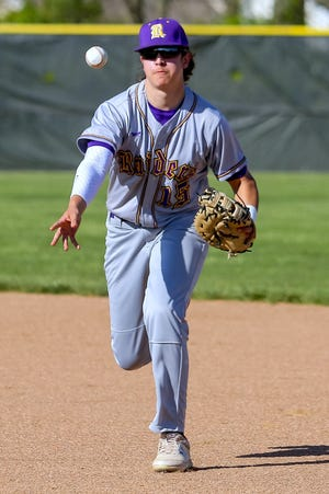 """Junior Preston Allen and Reynoldsburg entered the offseason feeling confident. """"With how many young guys we have and everything we had this year on the (junior varsity) level, we have a really good chance to build something going into next year,"""" he said."""
