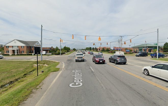 The latest Gender Road improvements from Canal Street to Winchester Boulevard in Canal Winchester include a new traffic signal at the Canal Street intersection.