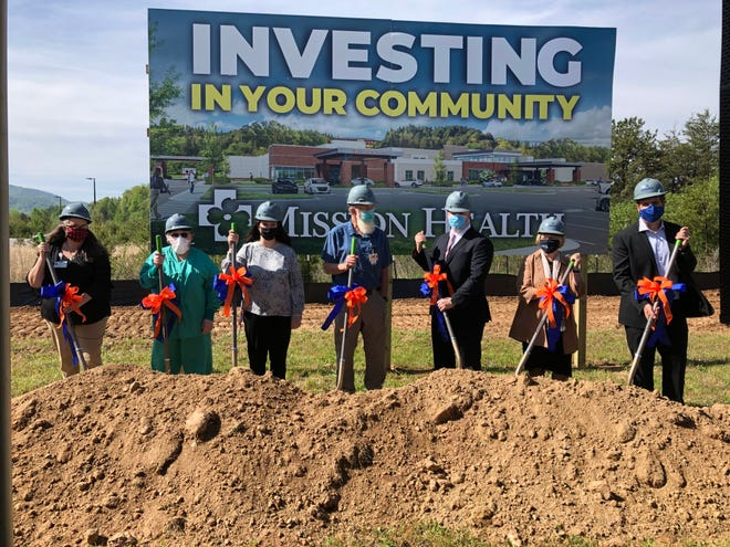 Mission Health broke ground on the new Angel Medical Center in Franklin, April 30, but some in the community have lingering concerns over the level of service it will provide.