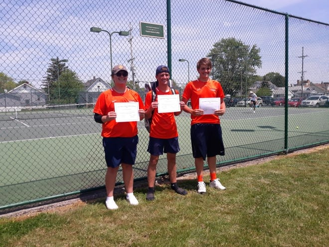 Galion's Jamie Hollis, Zach Grimes and Matt Gimbel became the school's first trio of district qualifiers as the Tigers strung together one of the best seasons in program history.