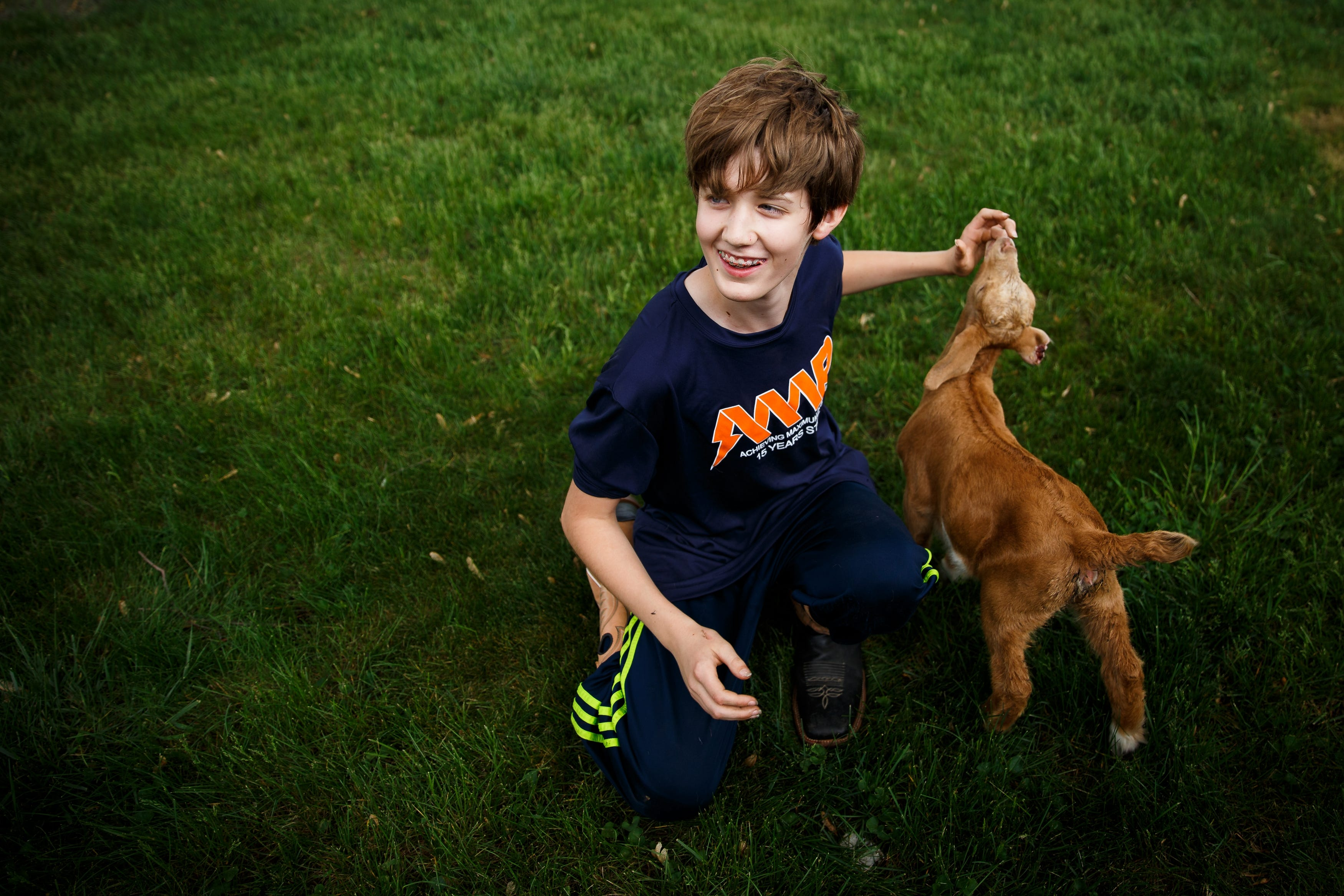 Farm family struggles to find help for their autistic son.
