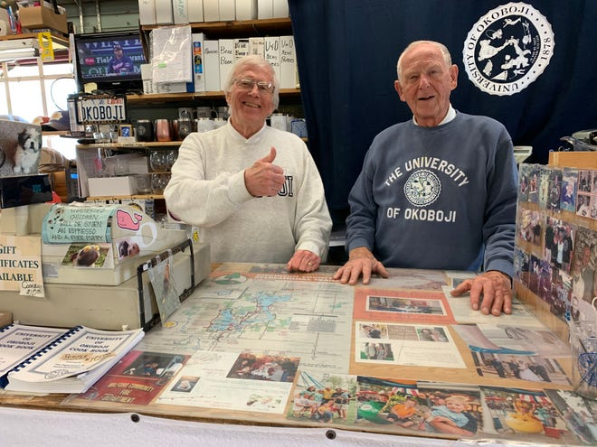 Herman and Emil Richter of The Three Sons store.
