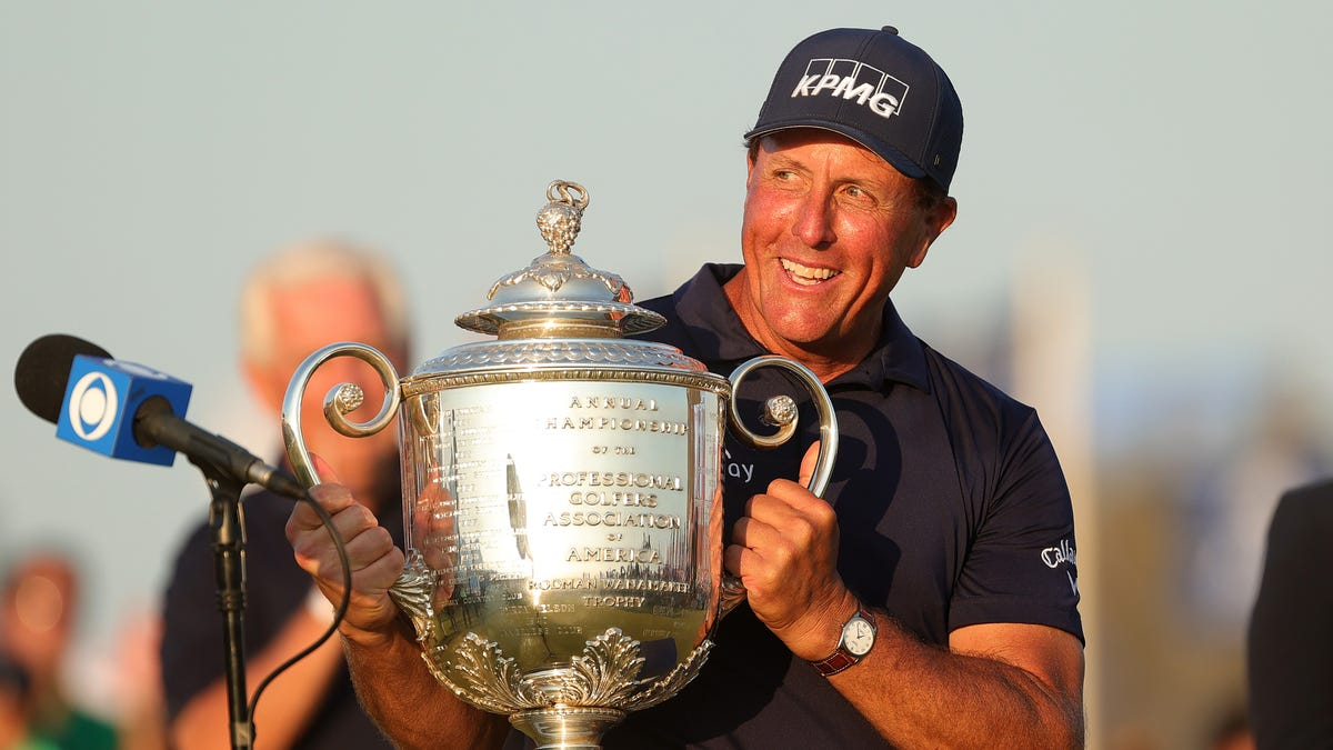 Phil Mickelson, PGA Championship winner, commits to play in Rocket Mortgage Classic 2