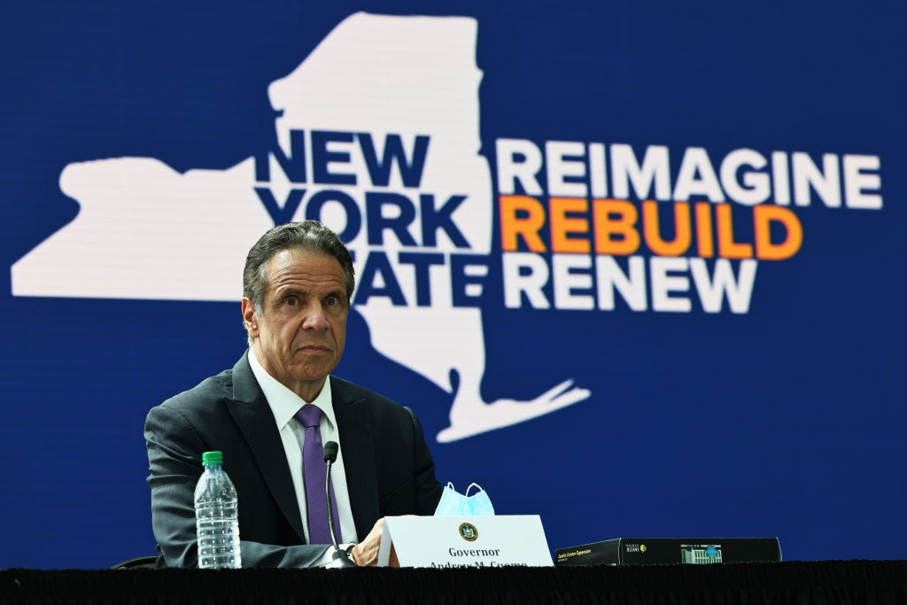 Cuomo impeachment probe moving forward, hundreds of tips roll in 2