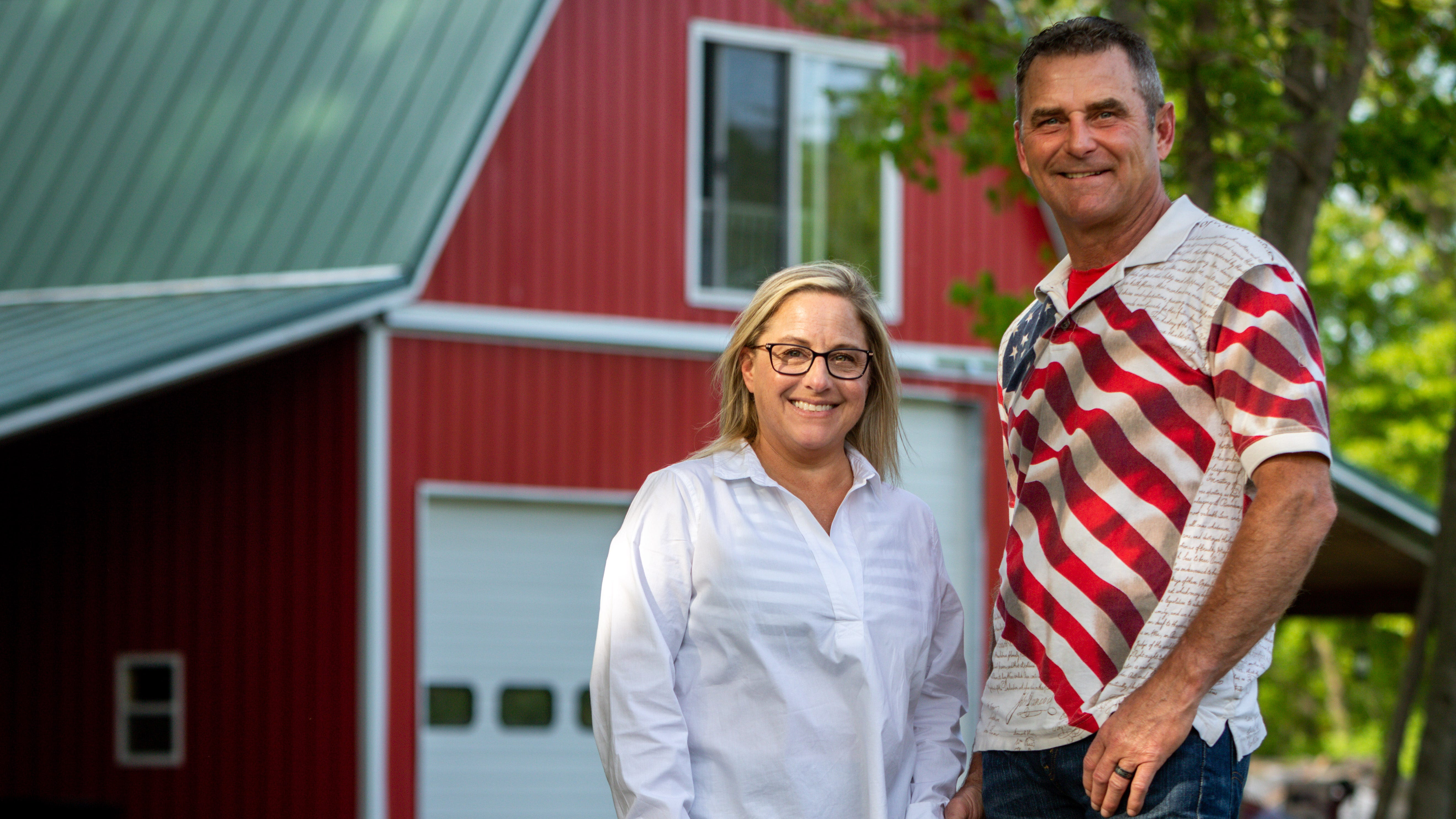 Gerald and Lynnette Keen live in Grand Haven after he retired from the U.S. Army. The Keens are on a mission to help Gerald's former Afghan interpreter get a special immigration visa to come to the U.S. before American forces withdraw from Afghanistan.