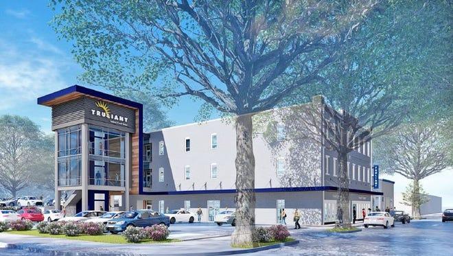 Truliant Greenville Hub Rendering