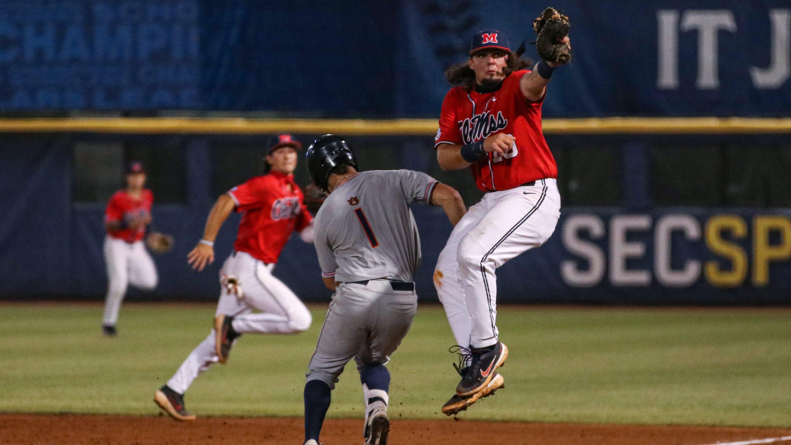 Ole Miss vs. Auburn baseball video highlights, final score in 2021 SEC Tournament