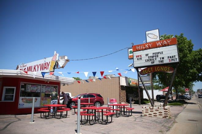 B&G Milkyway on West 12th Street.