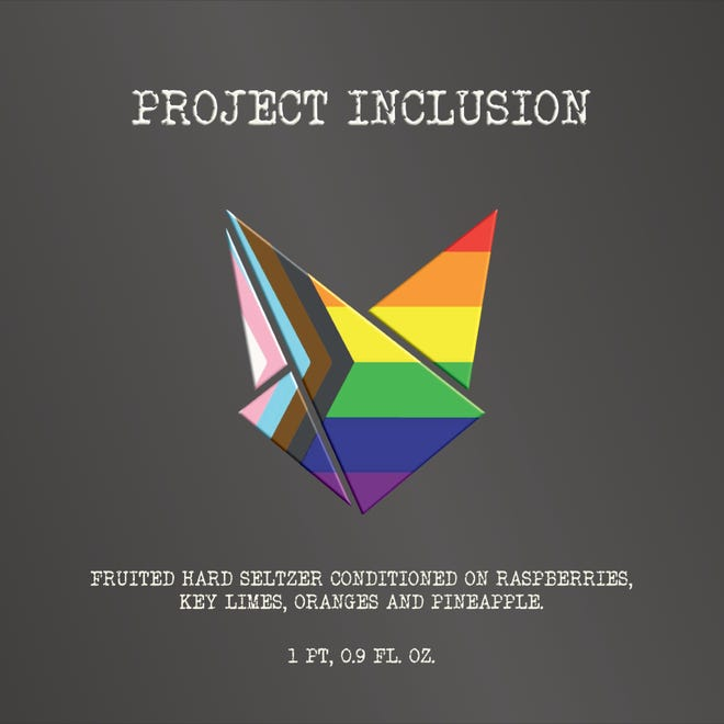 """Covert Artisan Ales is releasing """"Project Inclusion,"""" a rainbow sherbet-inspired seltzer."""