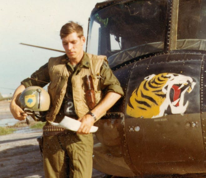 Capt. Scott Alwin grew up in Fort Atkinson, Wisconsin, but as an adult listed his permanent address at his parents' home in the Marathon County town of Berlin. He served five tours of duty in Vietnam, and is believed to have clocked more air time than any other American pilot in the war. He was killed by a drunk driver in 1976.