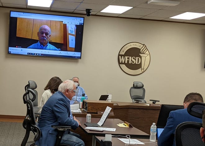 The Wichita Falls ISD School Board meets in a special session on Tuesday, May 25, 2021.