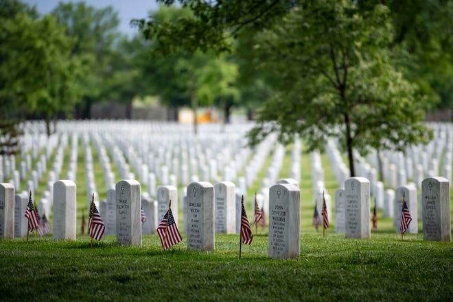 Arlington National Cemetery on May 23, 2019.
