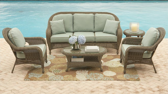 Get top-rated patio furniture, like these Sandy Cove wicker chairs, and so much more at Macy's Memorial Day sale.