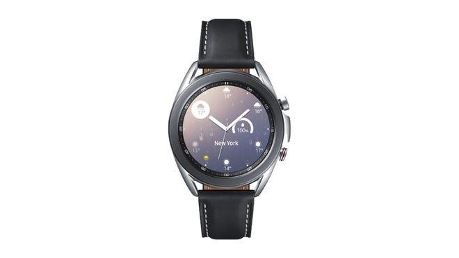Nos encantó el Galaxy Watch 3 por su pantalla vibrante y receptiva.