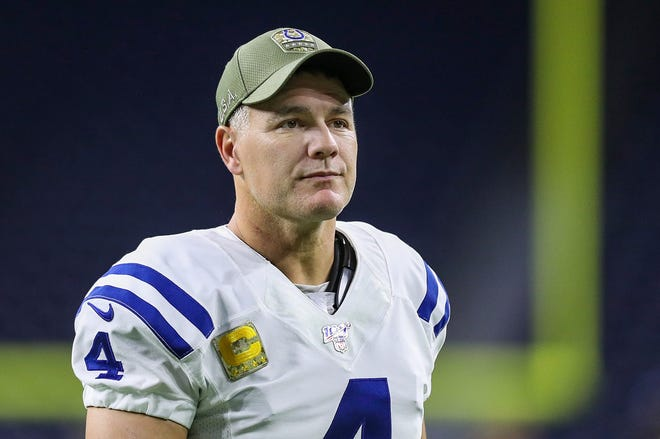Adam Vinatieri is the NFL's all-time leader in points, field goals and games played.