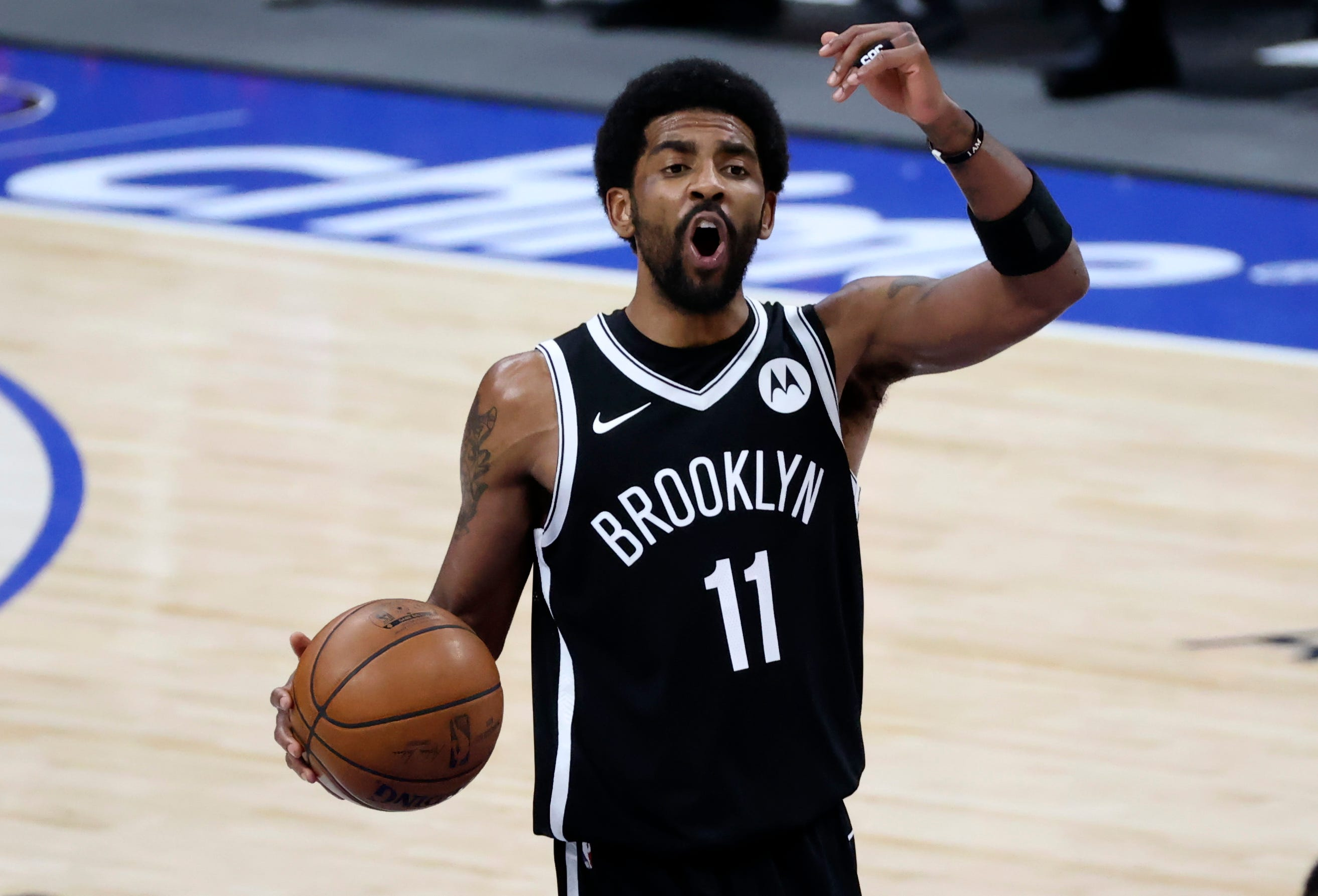 Boston Celtics fan arrested after allegedly throwing water bottle at Brooklyn Nets  Kyrie Irving