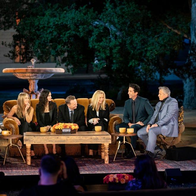 "The stars of ""Friends,"" NBC's hit comedy that ran for 10 seasons: Jennifer Aniston, Courteney Cox, Matthew Perry, Lisa Kudrow, David Schwimmer and Matt LeBlanc."