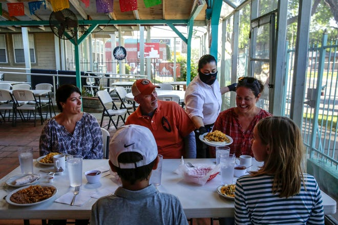 Restaurants in Pflugerville have been updating their face mask rules following the CDC's announcement of easing the mask-wearing guidance for fully vaccinated people, allowing them to stop wearing masks outdoors, in crowds and in most indoor settings.