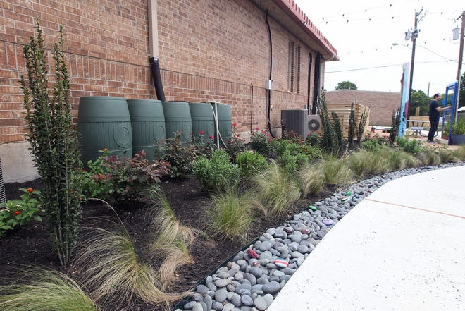 Rain barrels are among the water-conserving items that you can buy for your residence tax-free this weekend.