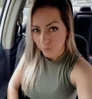 Taxi driver Rosanna Delgado was found slain in a home in Gilmer County.