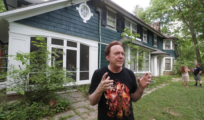 Hollywood movie producer Charles Band talks Tuesday about why he bought a Fairmount Avenue home in Cleveland Heights.