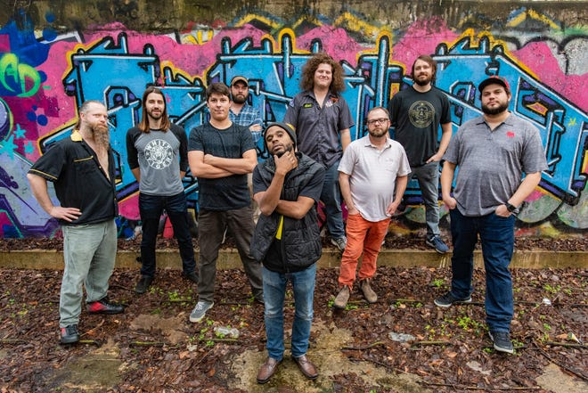 """Friends with Benefits Productions in Augusta ishosting severallive music performances at Sharon Jones Amphitheater in Riverside Village in North Augusta. The first – on Friday, May 28 – will feature """"Funk You,""""a nine-person funk music group from Augusta."""