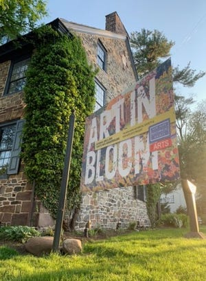 """New Hope Historical Society will present """"Art in Bloom,"""" a collaboration between the Historical Society and New Hope Arts for the 26th annual garden tour that features six locations.  The tour begins at 10 a.m. on June 5. Tickets are $35 per person for the full tour of six locations."""