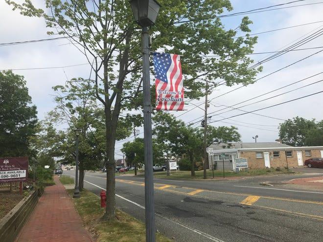 Evesham's Main Street.